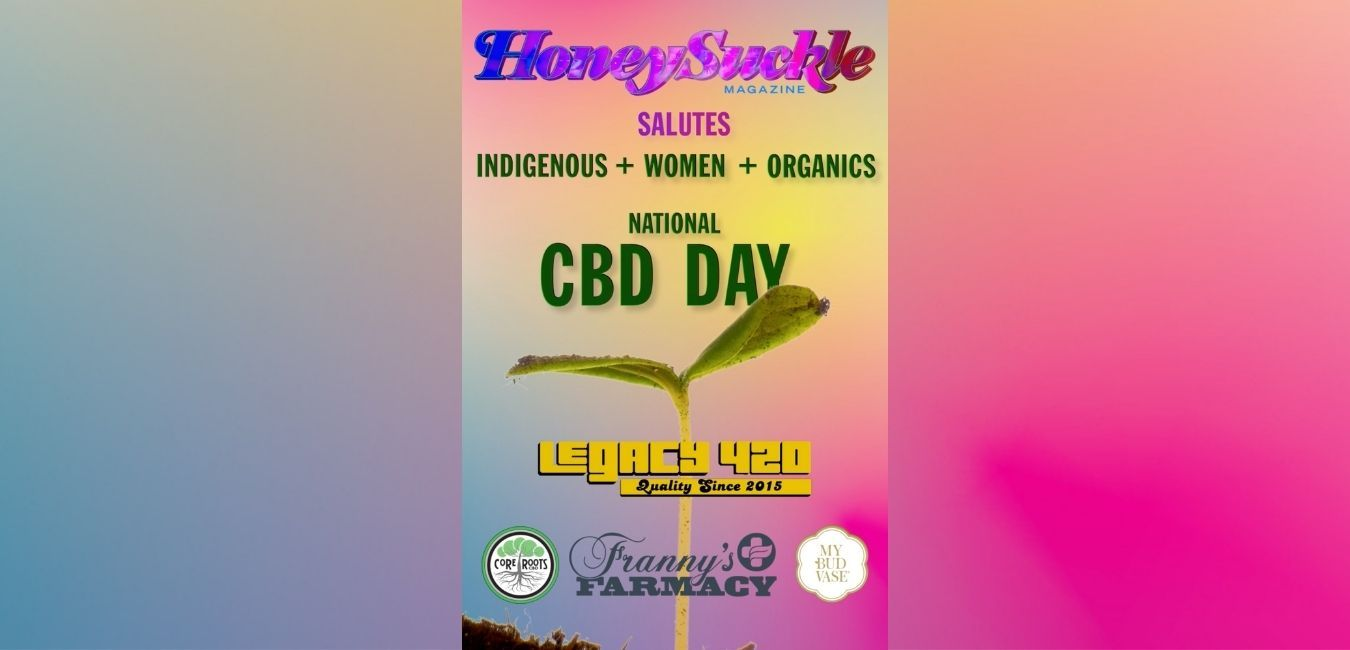 It's National CBD Day on Times Square with Honeysuckle Magazine!