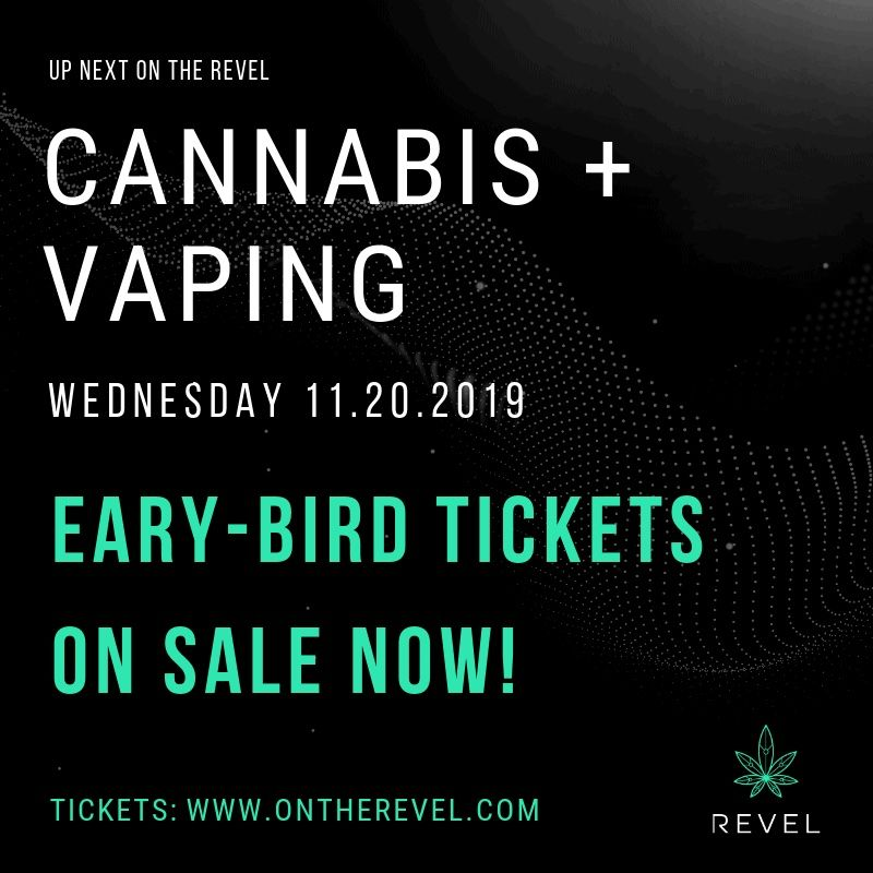 """""""Cannabis + Vaping"""": Industry Leaders Discuss Vaping Crisis at NYC Revel Forum"""