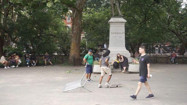 The Colonization of Washington Square Park