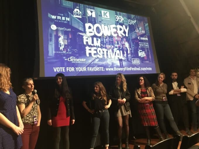 No-Holds-Barred: The 2nd Annual Bowery Film Festival and the Female Gaze