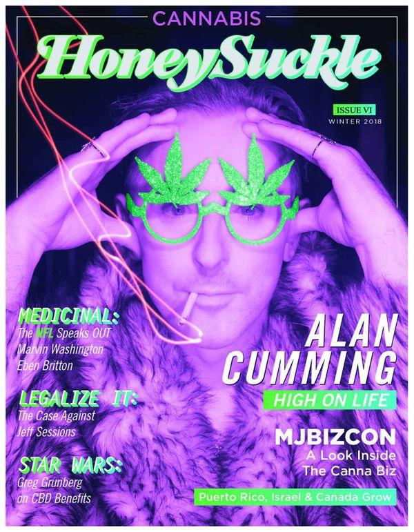 THE HIGHS KEEP CUMMING: Honeysuckle Magazine's Cannabis edition is here!