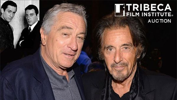 Charitybuzz and Tribeca Film Institute Auction Lunch with Robert De Niro and Al Pacino