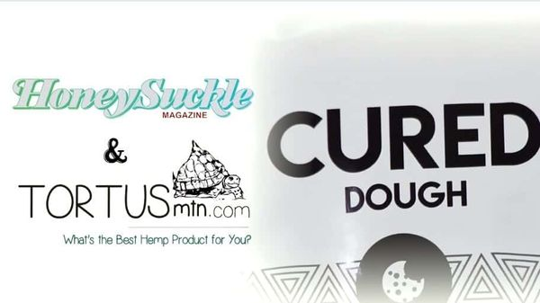 Cured Nutrition's Chocolate Chip Cookie Dough with 30 mg Hemp Extract...Delicious Treat for Date Night and Workout Recovery