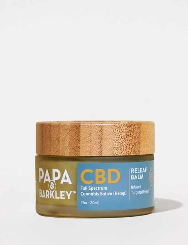 """Product Review: Papa & Barkley """"Releaf Balm 600mg Full Spectrum"""""""