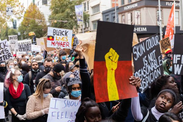 Black Lives Matter  Movement Gains Traction in Australia