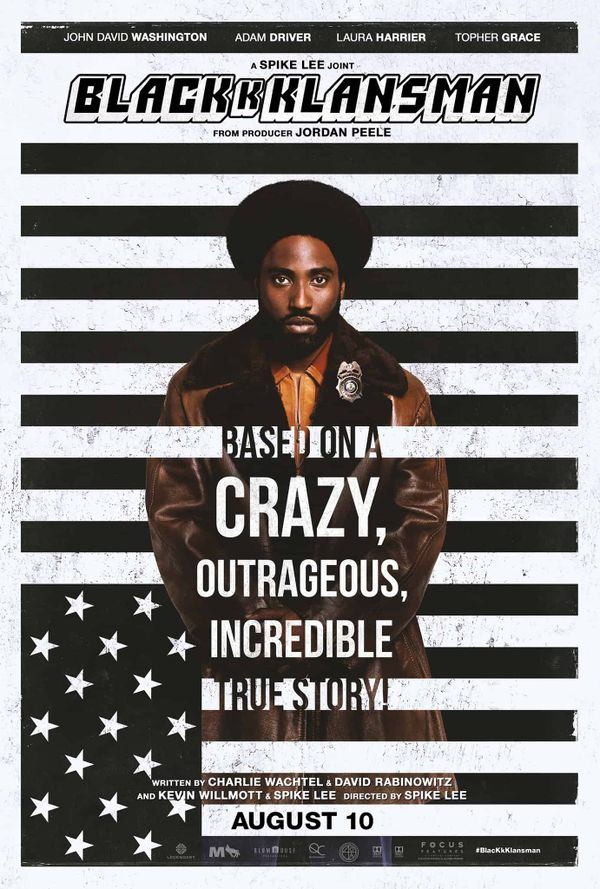SPIKE LEE: DOING THE RIGHT THING WITH BLACKKKLANSMAN