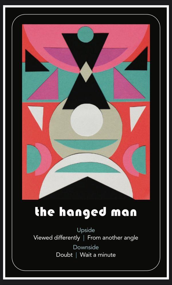 November's Tarot Reading: The Hanged Man