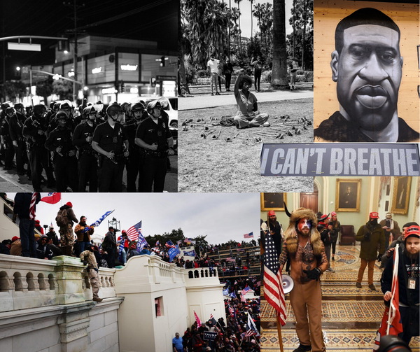 Insurrectionists Storming US Capitol Demonstrates Inequity in Policing #BlackLivesMatter