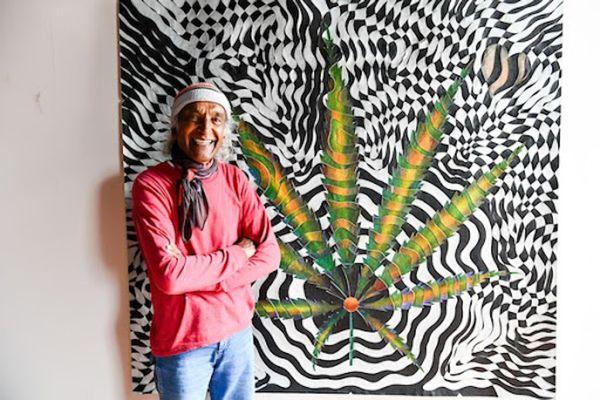 """I'm Here to Express Not Impress"": Artist Mohan Sundaresan Talks Art, Cannabis, and Inspiration"