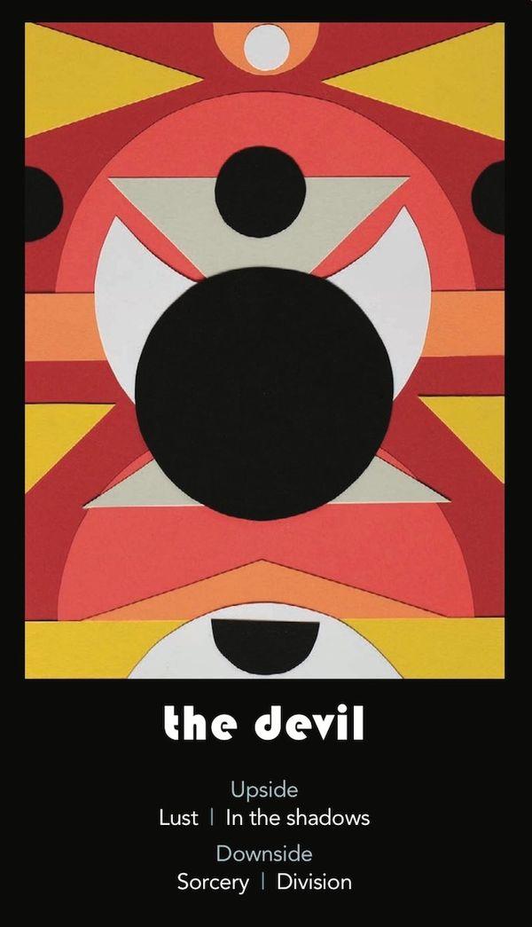 February's Tarot Draw: The Devil