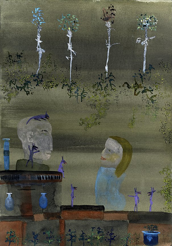 John Lurie Painting Herbert Was Worried That Maude Would Notice His Demons