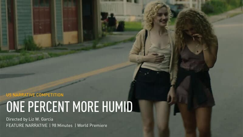 Juno Temple and Julia Garner Shine at Tribeca Film Fest in 'One Percent More Humid'