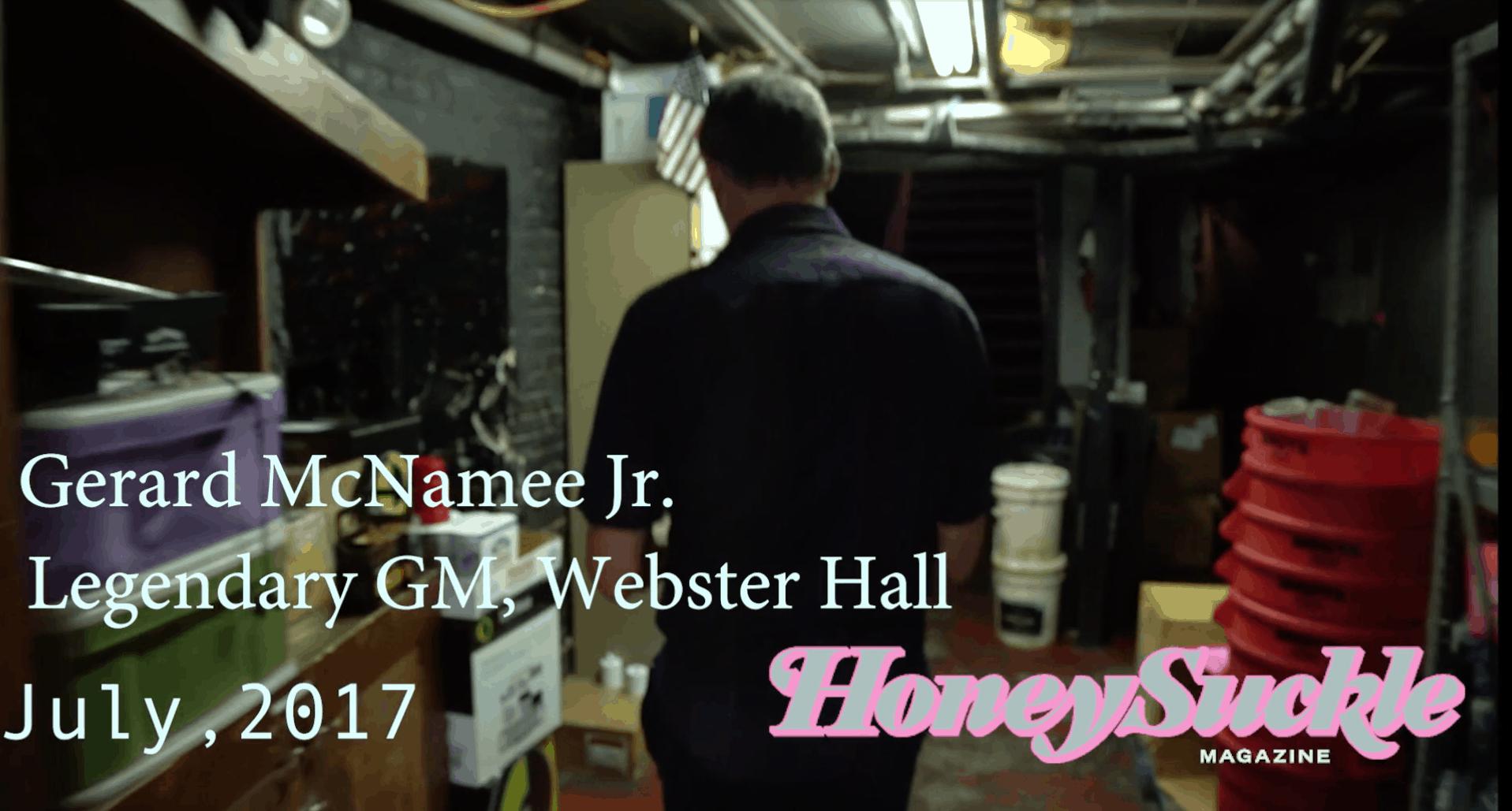 Last Nights at Webster Hall (Video)