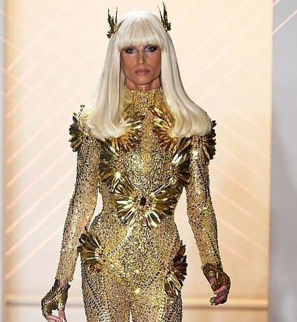 Flashback: The Blonds' Gold Show at New York Fashion Week