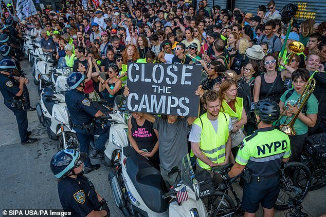 Anti-ICE Protest in New York Results in 100 Arrests, Blocks Traffic on Major Highway