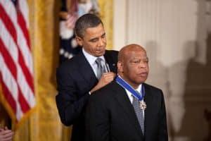 John Lewis Receives Medal of Freedom from President Barack Obama