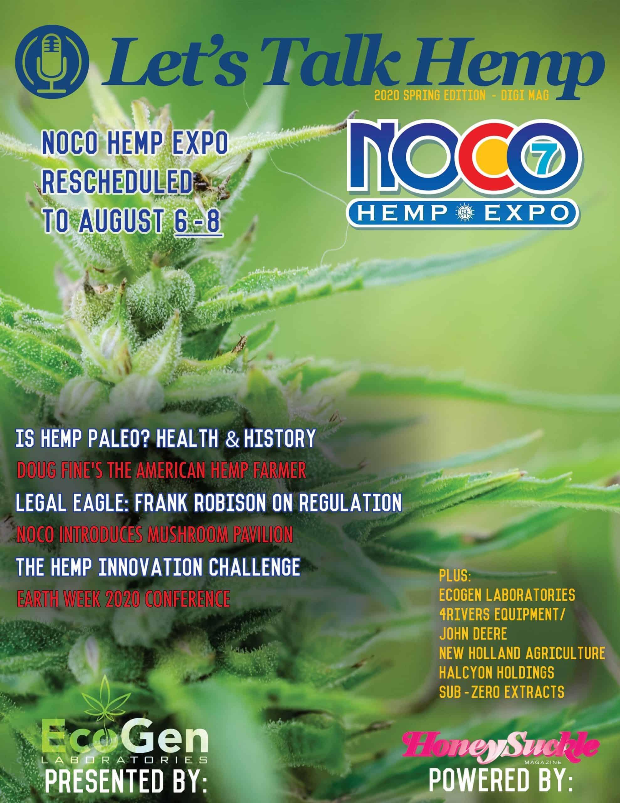 Honey Pot Powers Let's Talk Hemp NOCO7 Digi Mag: Out now
