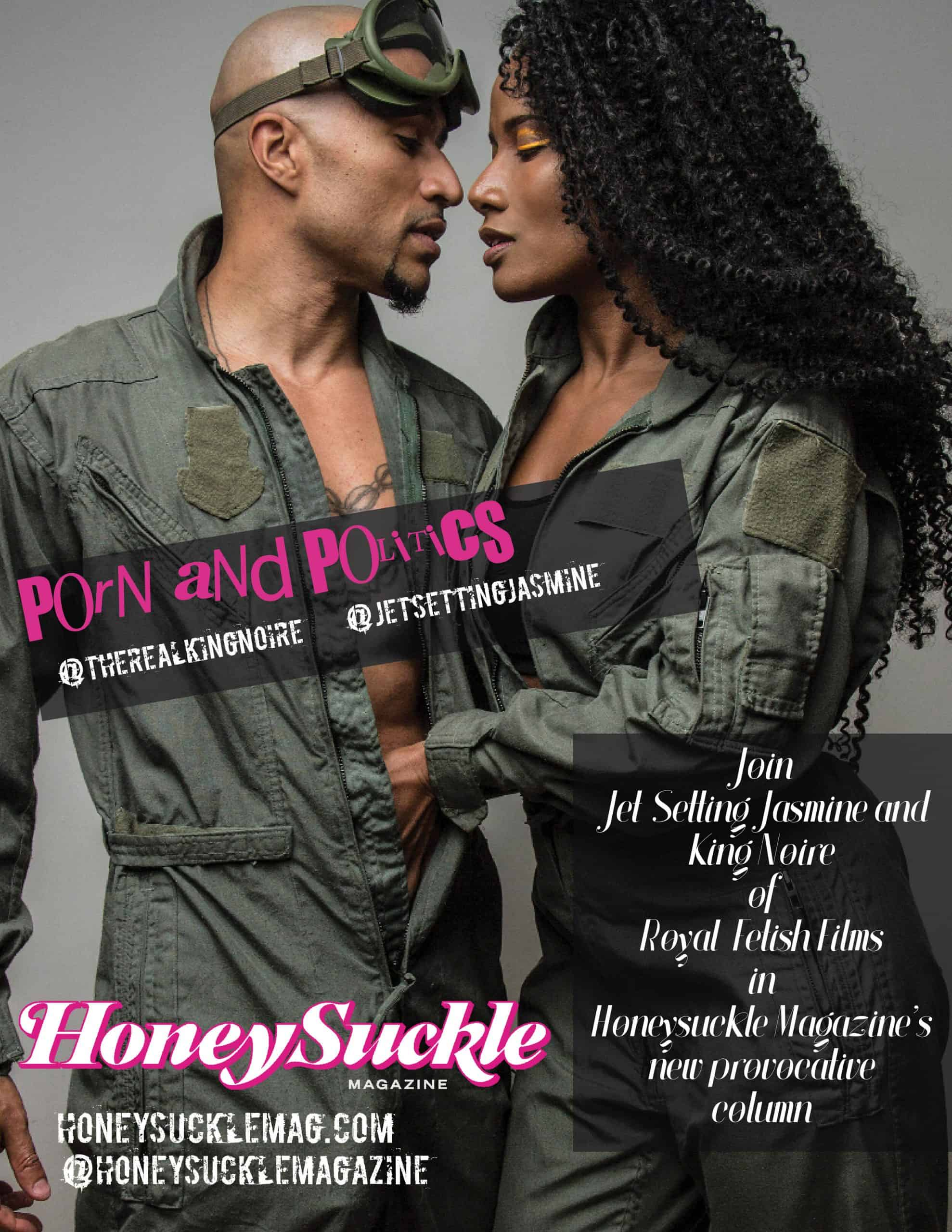 """Porn and Politics with King Noire and Jet Setting Jasmine """"Compromising in Kink"""""""