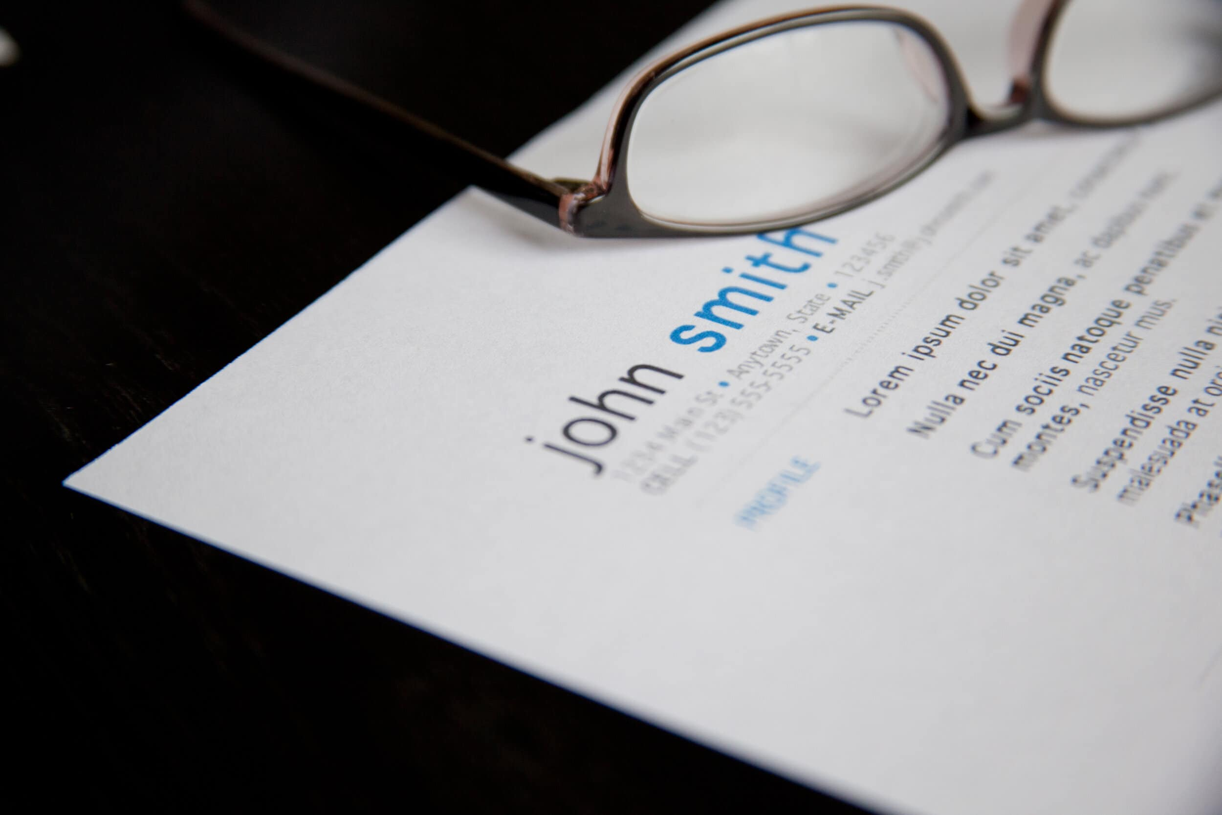 Resume Outline that will work for every job you apply in 2020
