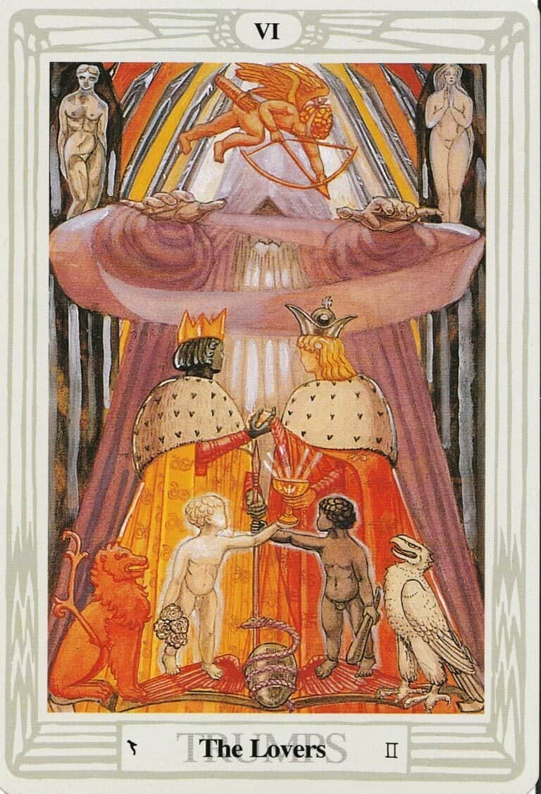 August's Tarot Draw: The Lovers