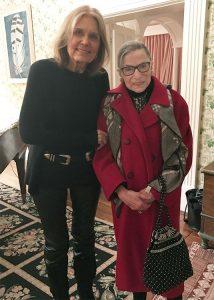 Gloria Steinem #RIPRBG