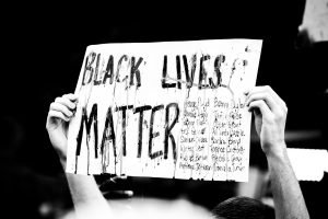protest-sign-black-lives-matter-during-coronavirus-in-the-city