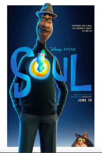 The movie poster for Soul.