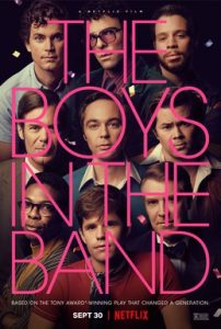 Movie poster for The Boys In The Band.