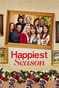 The movie poster for Happiest Season.