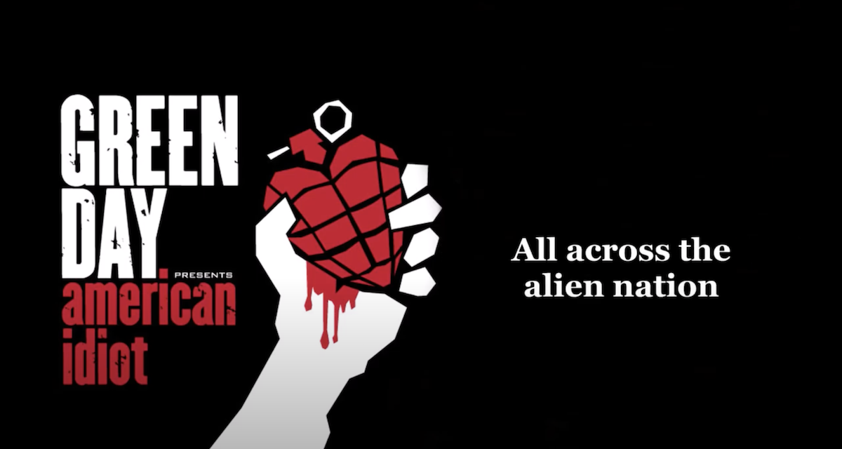 """Why Green Day's""""American Idiot""""is the Perfect Album for Our Moment"""
