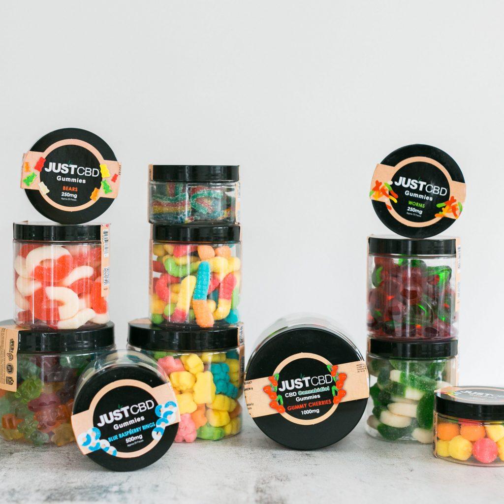 Just CBD Gummy Jars