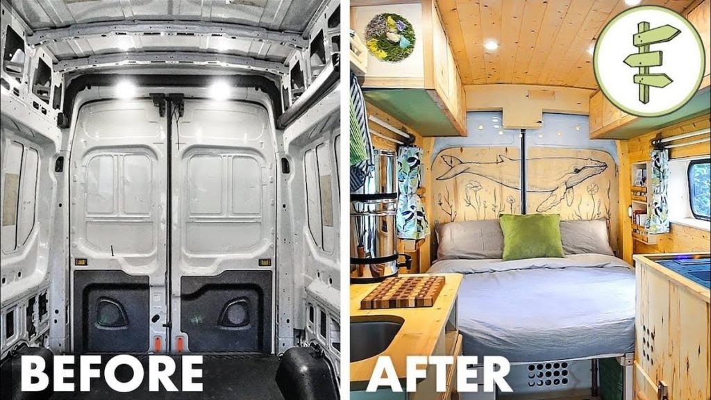 Van life, before and after