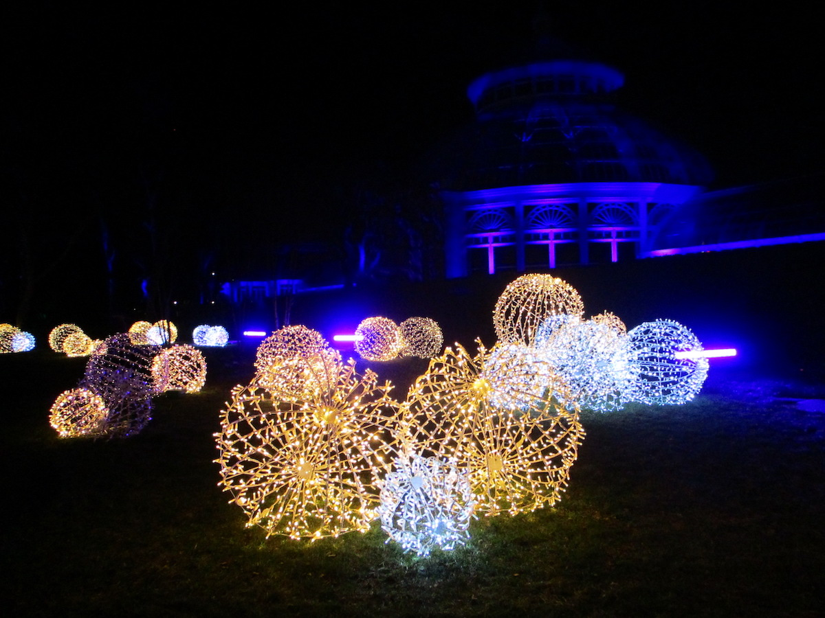 """Light Up Your Life With New York Botanical Garden's Outdoor Installation """"GLOW"""""""