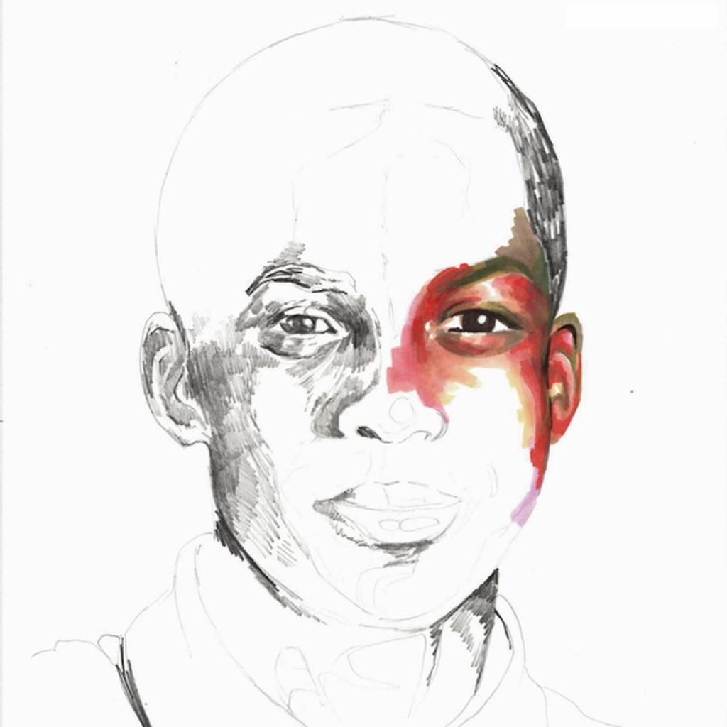 black contemporary artist