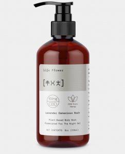 Life Flower lavender conscious body wash