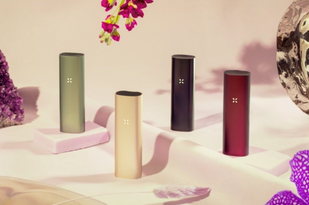 4 different pax 3 color collection vapes