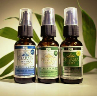 Three hemp oils