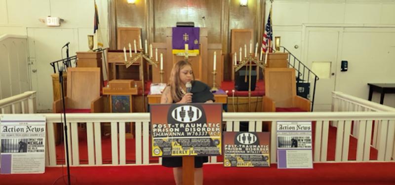 Harlem's Shawanna Vaughn of Silent Cry Introduces Historic Legislation To Address Trauma Surrounding Incarceration
