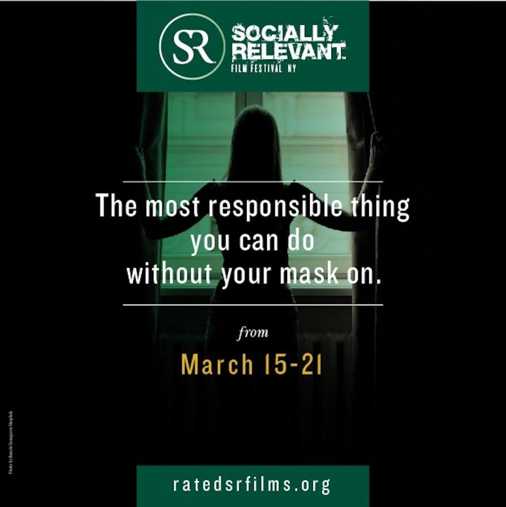 SR socially relevant film festival poster