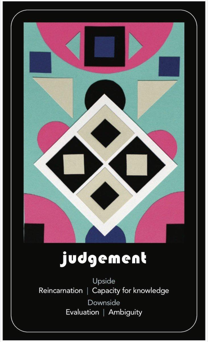 March's Tarot Draw: Judgement