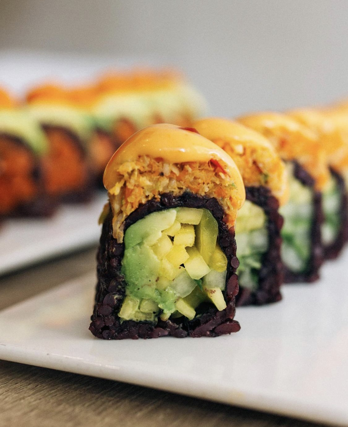 Spicy Mang roll from Beyond Sushi