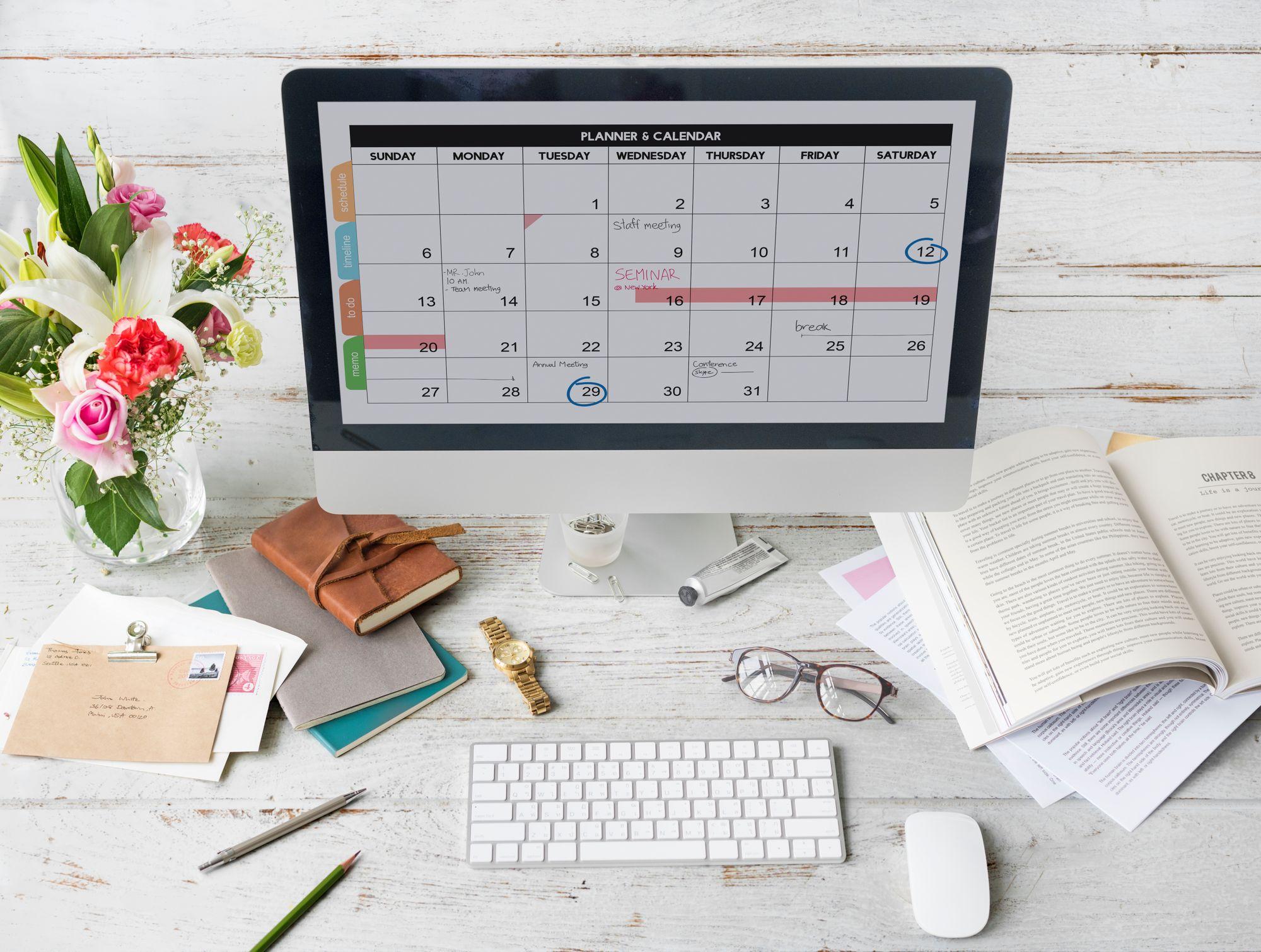 Mantenga su agenda médica completa, incluso en las vacaciones