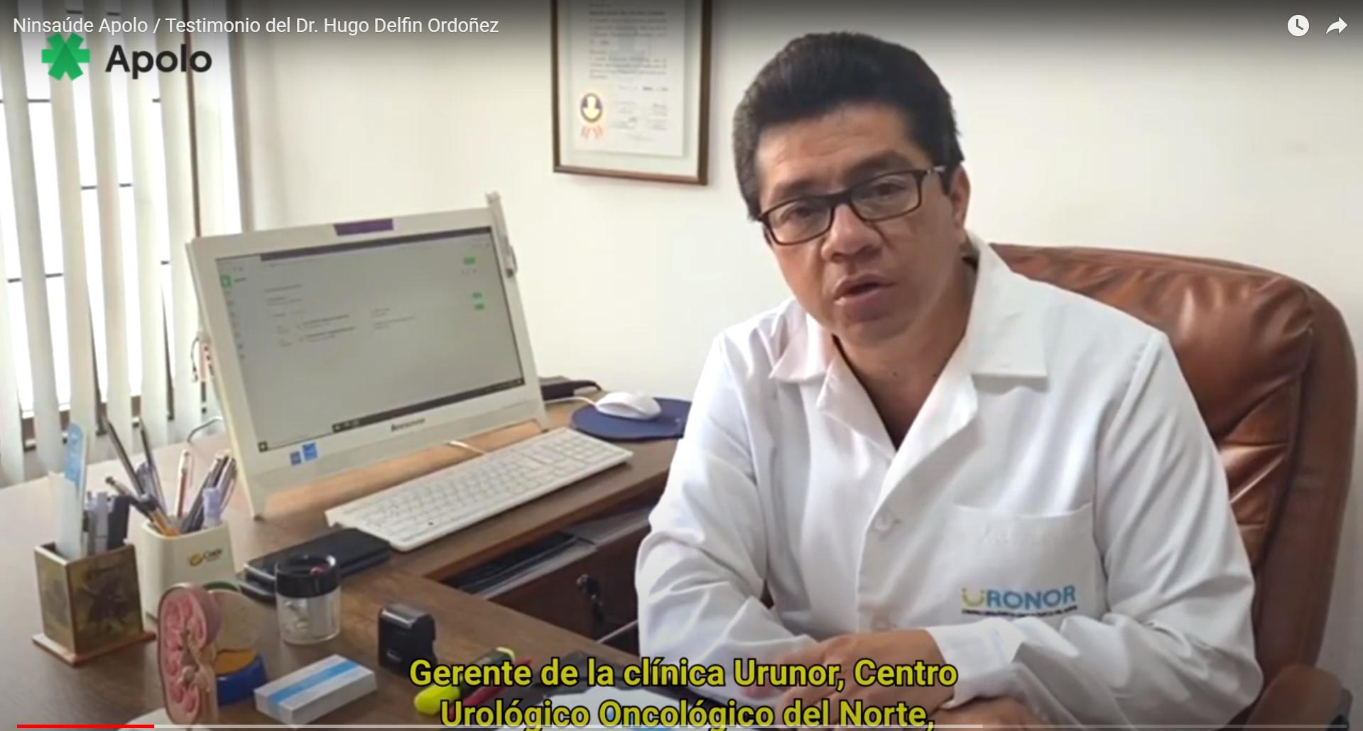 Caso de éxito: vea cómo Ninsaúde Apolo ayuda al Dr. Hugo Ordóñez