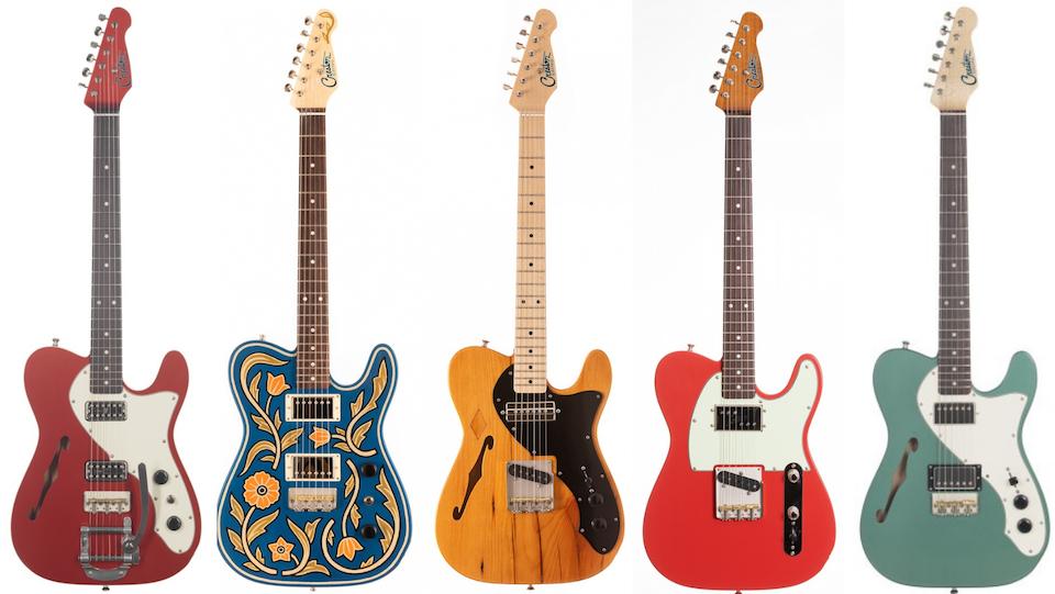 Creston T-Style Electric Guitars