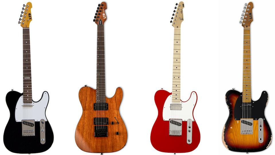 ESP Boutique Telecaster Guitars