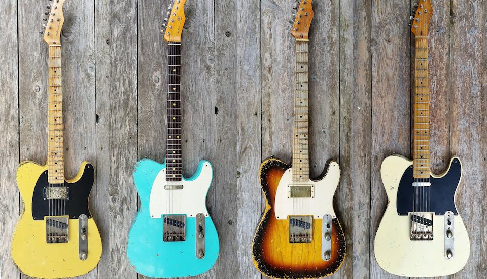 Kelton Swade Telecaster Guitars