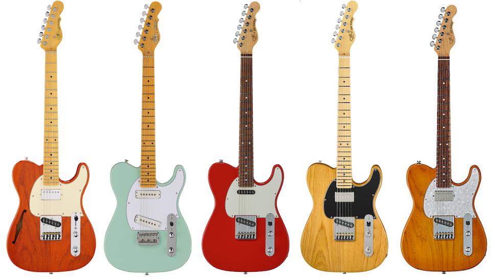 G&L ASAT T-Style Guitars