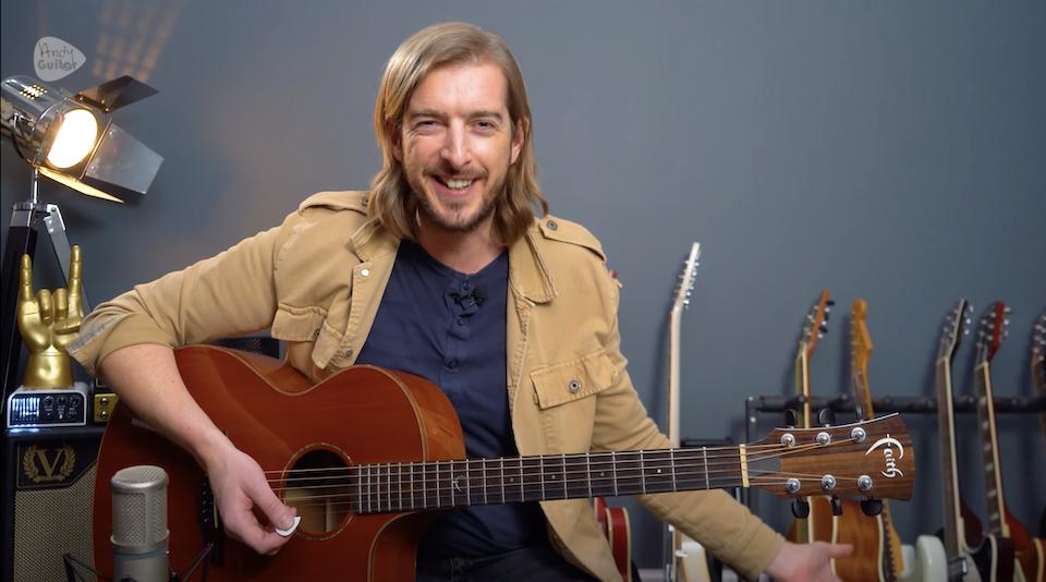 Andy Guitar Online Guitar Teacher