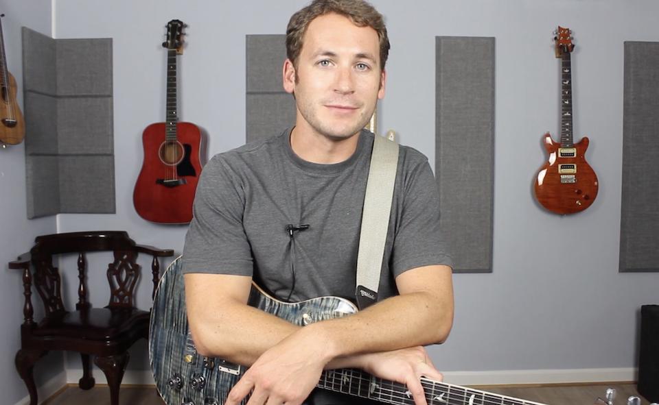 Michael Palomisano online guitar teacher